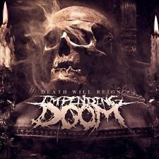 Death Will Reign by Impending Doom (Christian Deathcore) (CD, Nov-2013, Entertainment One)