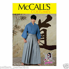 McCall's 7525 Sewing Pattern to MAKE Mens' Teen Costume - Kimono - Cosplay