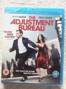 74533 Blu-ray - The Adjustment Bureau [NEW / SEALED]  2011  828 541 4