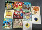11+Vintage++Children%27s+Records++Peter+Pan+Golden%2C+Disney+Records