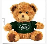 "NFL New York Jets Baby Bro Mascot Plush Teddy Bear 10"" tall [BS]"