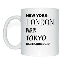 New York, London, Paris, Tokyo, HARTMANNSDORF Cup Of Coffee