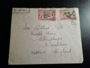 Pre Decimal Cover From Nigeria to UK