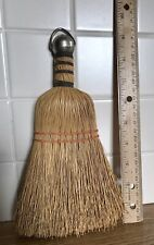 New ListingVintage Wire Wrap Straw Whisk Broom - Farmhouse Rustic Decor - Nice