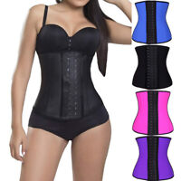 Fajas Colombianas Latex Waist Trainer Girdle Slim Long Torso Cincher Shaper Plus