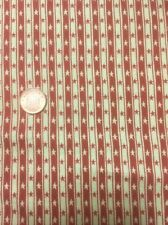100% Cotton quilting craft Fabric Henry Glass Hometown Holiday 3143 Stars Stripe