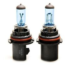 2 x 9004 Halogen Headlight 6000K Super White DC 12V Light Bulbs 55W