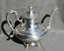 CAFETIERE THEIERE VERSEUSE ARGENT MASSIF MINERVE TEAPOT SILVER