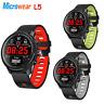 """Global Microwear L5 Smart Watch 1.3"""" Heart Rate Monitor IP68 Waterproof BT 4.0"""