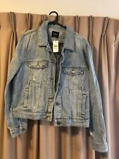 Sportsgirl Denim Jacket Size 16