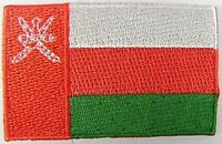 Oman Aufnäher gestickt,Flagge Fahne,Patch,Aufbügler,6,5cm,neu