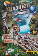 """Netto """"Ozeanien 3 Ab in den Dschungel"""" alle 90 Basis-Karten - KEINE Doppelten"""