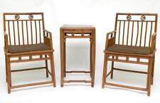 Set Of Huangyang Wood Table & Chairs, 19Th C. Lot 522