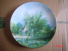 Coalport Collectors Plate ON THE THAMES From ENGLISH MASTERPIECES #2