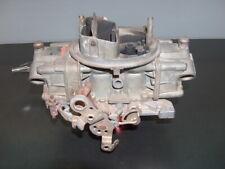 Holley 750 CFM 4 Barrel Carburetor Dual Feed Vacuum Secondary 3310-2 Core w/Line