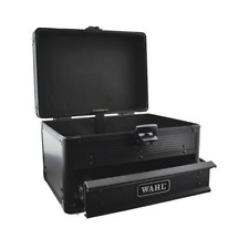 Wahl Black Metal Tool Box Storage Travel Carry Case