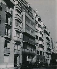 PARIS c. 1950 - Rue Nungesser et Coli Immeuble Le Corbusier - DIV 3955