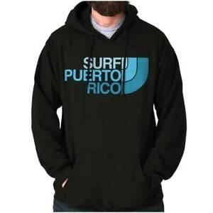 Surf Puerto Rico Country Pride Island PR Adult Long Sleeve Hoodie Sweatshirt
