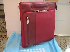 Piquadro PQ7 Red Organized vertical bag, stowaway handles CA1635PQ/R