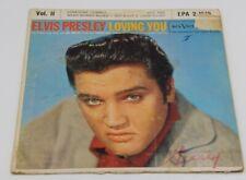 ELVIS PRESLEY 45 Record LOVING YOU