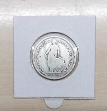 Schweiz 2 Franken 1879  Silber fast schön