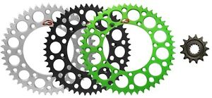 Renthal Grooved front & Ultralight rear sprocket for 1992-2007 Kawasaki KX250