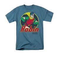 BATMAN AND ROBIN THE BOY WONDER Licensed Adult Men's Graphic Tee Shirt SM-5XL