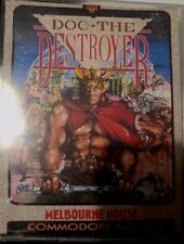 Doc The Destroyer (Melbourne House, 1987) C64  (Tape) (Game, Manual, Box)
