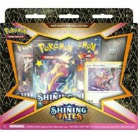 NEW Pokémon TCG: BUNNELBY SEALED Shining Fates Mad Party Pin Collection