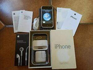 Apple Iphone 2G 1ère 1ST Generation A1203 V1 EDGE 8go avec Boîte d'origine