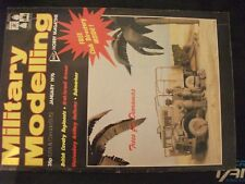 ** Military Modelling January 1976 British Submarines  British Cavalry regiments