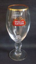 NEW STELLA ARTOIS STEMMED PINT GLASS BEER LAGER PUB BAR HOME COLLECTOR M15