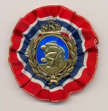 FILA 1939 European Wrestling championships Organizing Committee member badge pin