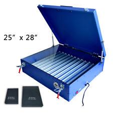 25 X 28 Exposure Unit Screen Printing Machine Led Light Box For Shirt Dy Press