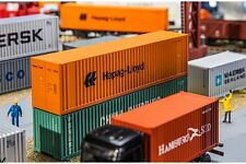 Faller 180841 HO 1/87 40' Hi-Cube Container Hapag Lloyd