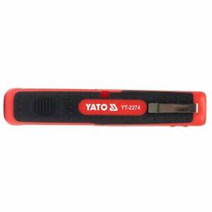 YATO Multi Kabelentmantler Kabel Abisolierer Kabelmesser Leitung Entmantler