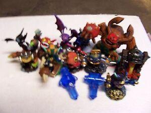 Lot of 13 Skylander Toys (ChopChop,DuneBug TreeRex And More) Lot #Z27