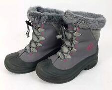 COLUMBIA Women's 5 Omni Heat Waterproof Gray / Pink Winter Snow Boots 200 grams