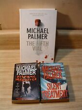 Lot of 3 MICHAEL PALMER Medical ~Extreme Measures, Fifth Vial, Silent Treatment