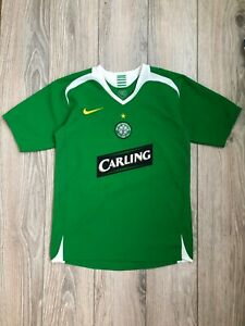 Celtic Glasgow 2005-2006 Away Football Shirt Soccer Jersey L boys 12-13 years