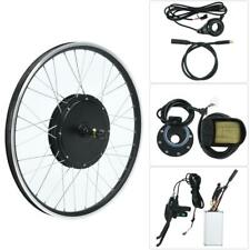 "E-Bike Conversion Kit 48V 1500W 26"" Heckmotor Fahrrad Umbausatz LCD Display"