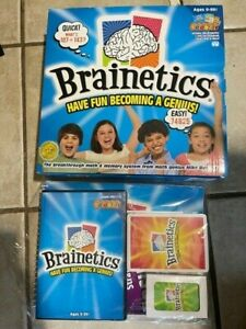 Brainetics Math Memory System 7 DVD Set Flash Cards and Books - UNUSED