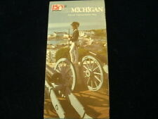 Vintage 1987 Official Michigan MI State Highway Road Map  Great Condition