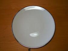 Flintridge USA Bon Lite Ivory Platinum MIRADOR Set of 8 Salad Plates Coupe