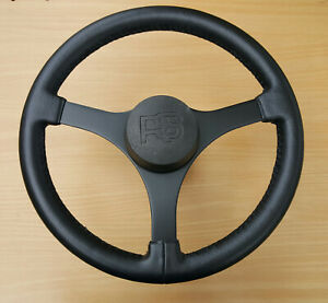 Classic 1970's Ford Escort Mk2 RS2000/Mexico Leather Steering Wheel -Please Read