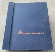 60s Allis Chalmers Service Guides Manual Book Index Engines Machinery Tractor