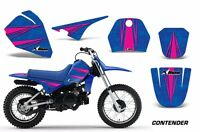 Dirt Bike Decal Graphic Kit Sticker Wrap For Yamaha PW80 PW 80 96-06 CONT P U
