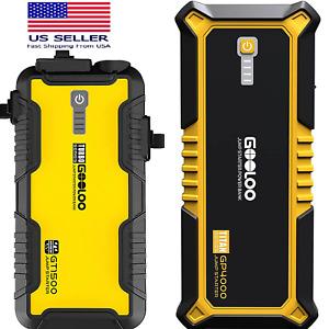 ⚡ 1500A & 4000A Portable Voiture Jump Starter Moteur Batterie Chargeur Banque
