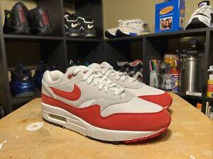 Nike Air Max 1 Anniversary OG 2017 Retro Red Grey White 908375-103 Size 10