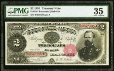1891 $2 Fr. 356 Treasury Note PMG Choice Very Fine 35.